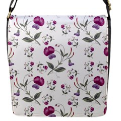 Floral Wallpaper Pattern Seamless Flap Messenger Bag (s)