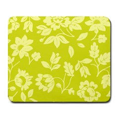Floral Vintage Wallpaper Pattern Large Mousepads