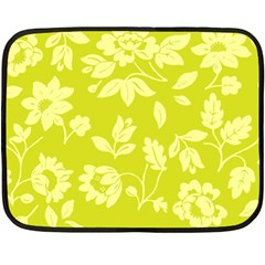 Floral Vintage Wallpaper Pattern Double Sided Fleece Blanket (mini)