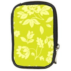 Floral Vintage Wallpaper Pattern Compact Camera Cases