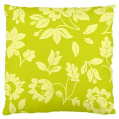 Floral Vintage Wallpaper Pattern Large Cushion Case (one Side)