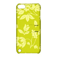 Floral Vintage Wallpaper Pattern Apple Ipod Touch 5 Hardshell Case With Stand
