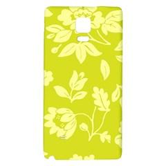 Floral Vintage Wallpaper Pattern Galaxy Note 4 Back Case