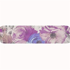 Floral Vintage Wallpaper Pattern Pink White Blue Large Bar Mats