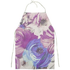 Floral Vintage Wallpaper Pattern Pink White Blue Full Print Aprons
