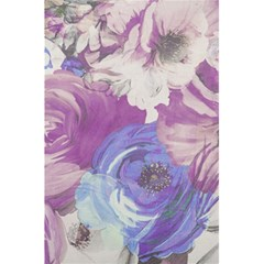 Floral Vintage Wallpaper Pattern Pink White Blue 5 5  X 8 5  Notebooks