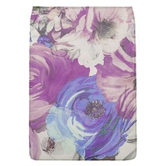 Floral Vintage Wallpaper Pattern Pink White Blue Flap Covers (s)  by goodart