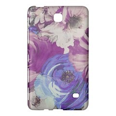 Floral Vintage Wallpaper Pattern Pink White Blue Samsung Galaxy Tab 4 (8 ) Hardshell Case
