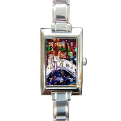 Gatchina Park Rectangle Italian Charm Watch