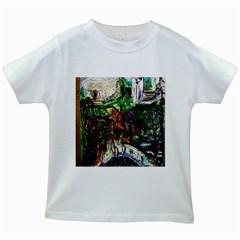 Gatchina Park 4 Kids White T Shirts by bestdesignintheworld