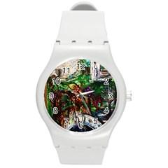 Gatchina Park 4 Round Plastic Sport Watch (m)