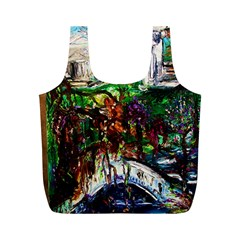 Gatchina Park 4 Full Print Recycle Bags (m)