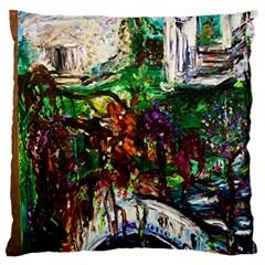 Gatchina Park 4 Large Flano Cushion Case (one Side)