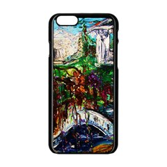 Gatchina Park 4 Apple Iphone 6/6s Black Enamel Case by bestdesignintheworld