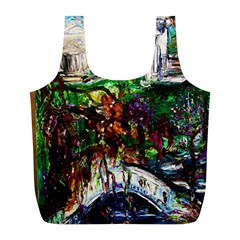 Gatchina Park 4 Full Print Recycle Bags (l)  by bestdesignintheworld
