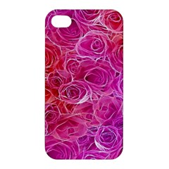 Floral Pattern Pink Flowers Apple Iphone 4/4s Hardshell Case