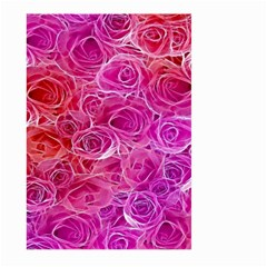Floral Pattern Pink Flowers Large Garden Flag (two Sides)