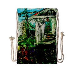 Gatchina Park 3 Drawstring Bag (small) by bestdesignintheworld