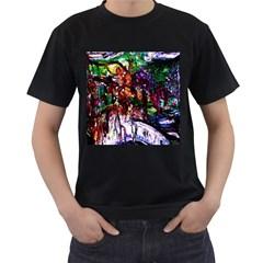 Gatchina Park 2 Men s T Shirt (black) (two Sided)