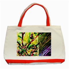 House Will Be Buit 4 Classic Tote Bag (red) by bestdesignintheworld