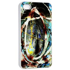 Egg In The Duck Apple Iphone 4/4s Seamless Case (white)