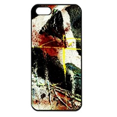 Egg In The Duck   Needle In The Egg Apple Iphone 5 Seamless Case (black)