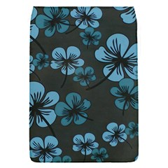 Blue Flower Pattern Young Blue Black Flap Covers (s)