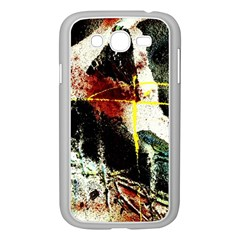 Egg In The Duck   Needle In The Egg Samsung Galaxy Grand Duos I9082 Case (white)