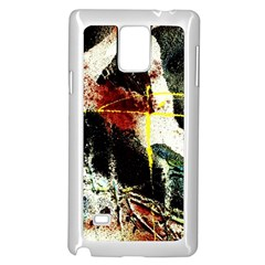 Egg In The Duck   Needle In The Egg Samsung Galaxy Note 4 Case (white)