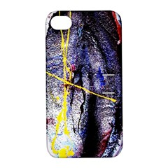 Egg In The Duck   Needle In The Egg 7 Apple Iphone 4/4s Hardshell Case With Stand