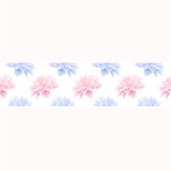 Blue And Pink Flowers Vector Clipart Large Bar Mats