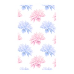 Blue And Pink Flowers Vector Clipart Memory Card Reader