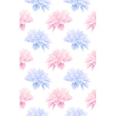 Blue And Pink Flowers Vector Clipart 5 5  X 8 5  Notebooks