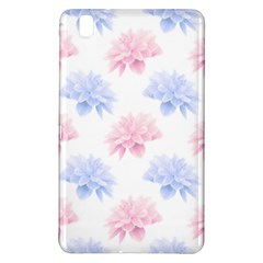 Blue And Pink Flowers Vector Clipart Samsung Galaxy Tab Pro 8 4 Hardshell Case