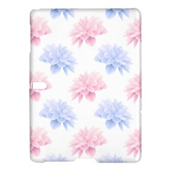 Blue And Pink Flowers Vector Clipart Samsung Galaxy Tab S (10 5 ) Hardshell Case