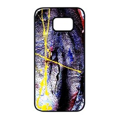 Egg In The Duck   Needle In The Egg 7 Samsung Galaxy S7 Edge Black Seamless Case