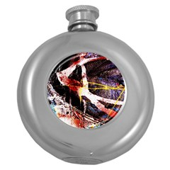 Egg In The Duck   Needle In The Egg 4 Round Hip Flask (5 Oz)