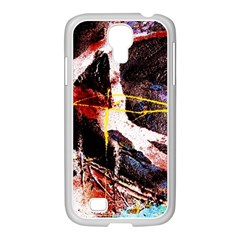 Egg In The Duck   Needle In The Egg 4 Samsung Galaxy S4 I9500/ I9505 Case (white)