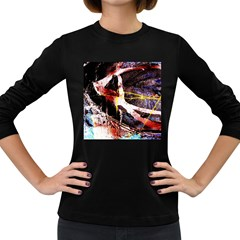 Egg In The Duck   Needle In The Egg 4 Women s Long Sleeve Dark T Shirts