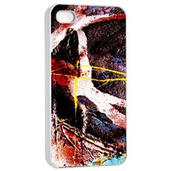 Egg In The Duck   Needle In The Egg 4 Apple Iphone 4/4s Seamless Case (white)