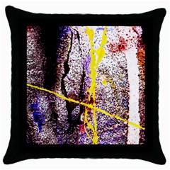 Egg In The Duck   Needle In The Egg 1 Throw Pillow Case (black)