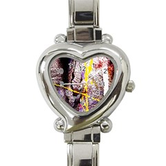 Egg In The Duck   Needle In The Egg 1 Heart Italian Charm Watch