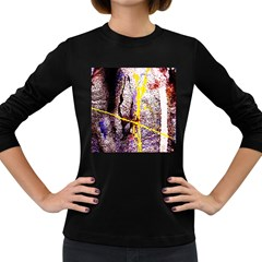 Egg In The Duck   Needle In The Egg 1 Women s Long Sleeve Dark T Shirts