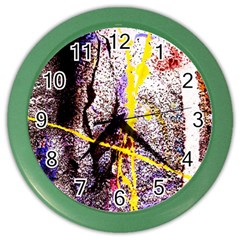 Egg In The Duck   Needle In The Egg 1 Color Wall Clocks