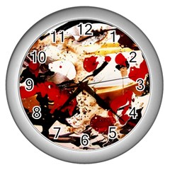 In Ireland 3 Wall Clocks (silver)