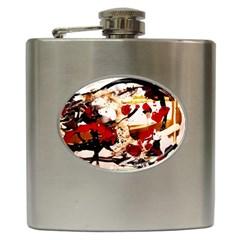 In Ireland 3 Hip Flask (6 Oz) by bestdesignintheworld