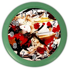 In Ireland 3 Color Wall Clocks
