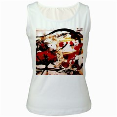 In Ireland 3 Women s White Tank Top