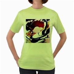 Immediate Attraction 8 Women s Green T Shirt