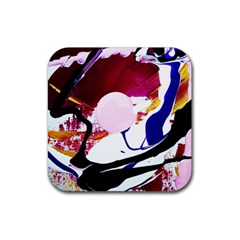 Immediate Attraction 8 Rubber Square Coaster (4 Pack)